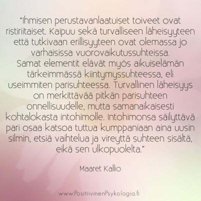 Maaret Kallio 2 positiivinen psykologia