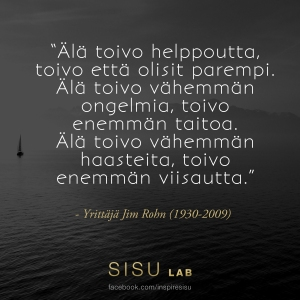 Jim Rohn SISU LAB