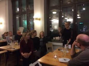 SPPY sai alkusysäyksen jouluisen tunnelmallisessa illassa Helsingin Pursimiehenkadun Sis. Delissä.